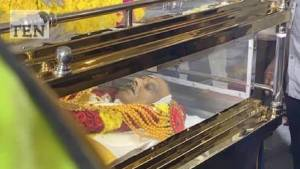 Legendary Actor & Singer SP Balasubramanya Final Journey Photos - Photos