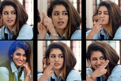 Priya Prakash Varrier Angelic Photos