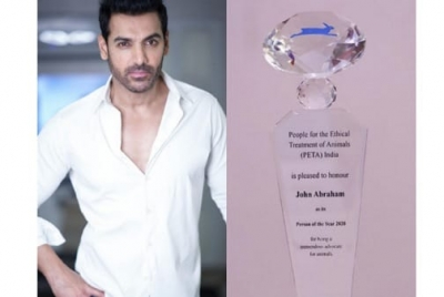 John Abraham Is PETA India's Person of the Year